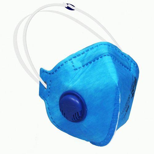 Máscara Respirador Semifacial Descartável PFF1-S com válvula